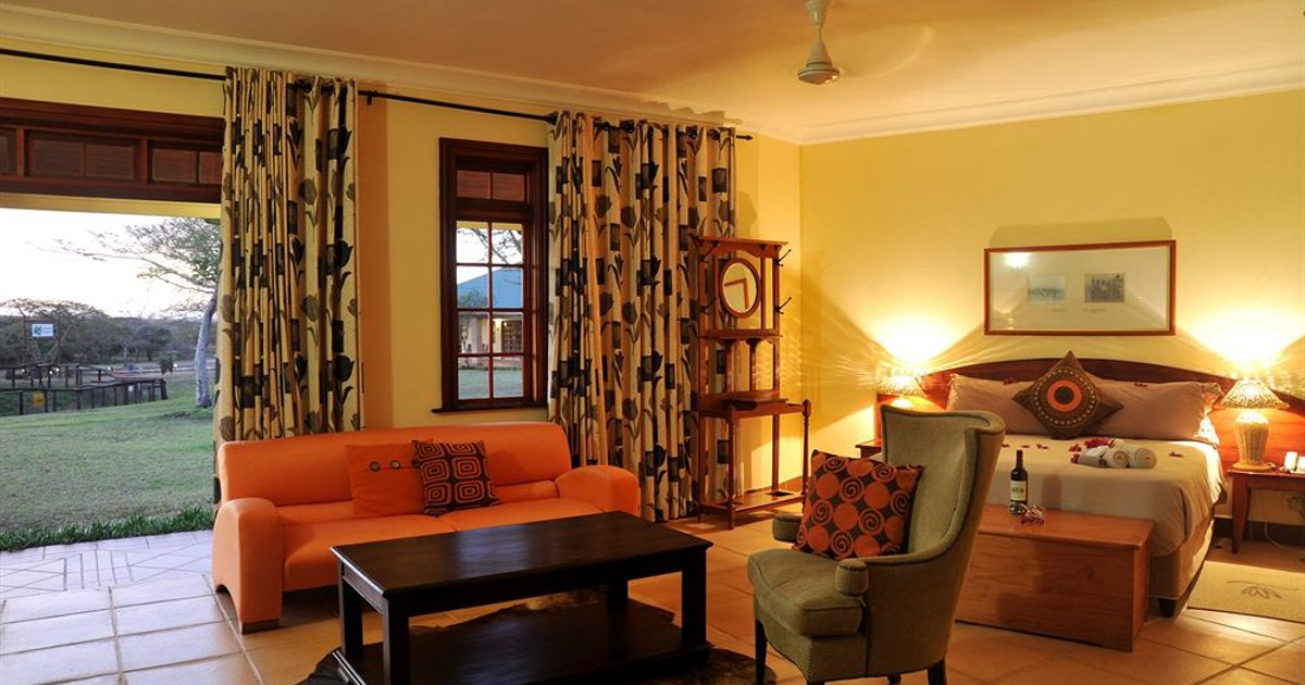 Zulu Nyala Heritage Safari Lodge *Preis inkl. Vollpension*
