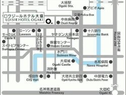 Ogaki hotels with restaurants