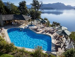 Villa la Angostura hotels with lake view