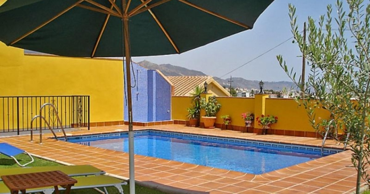 Rental Villa Nerja - Nerja, 4 Bedrooms, 8 Persons