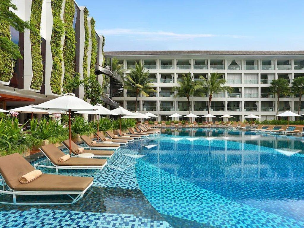 hotel mewah bintang 5 di Pantai Kuta Bali