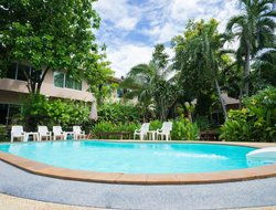 Kanchanaburi City hotels with swimming pool