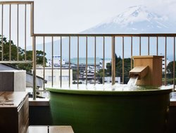 Fujikawaguchiko hotels with lake view