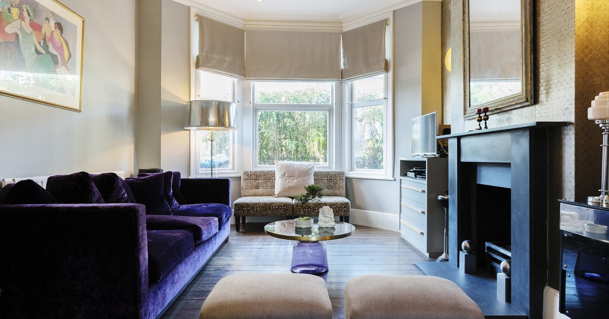 Veeve Interior Designed Home In Trendy Queens Park Mortimer Road