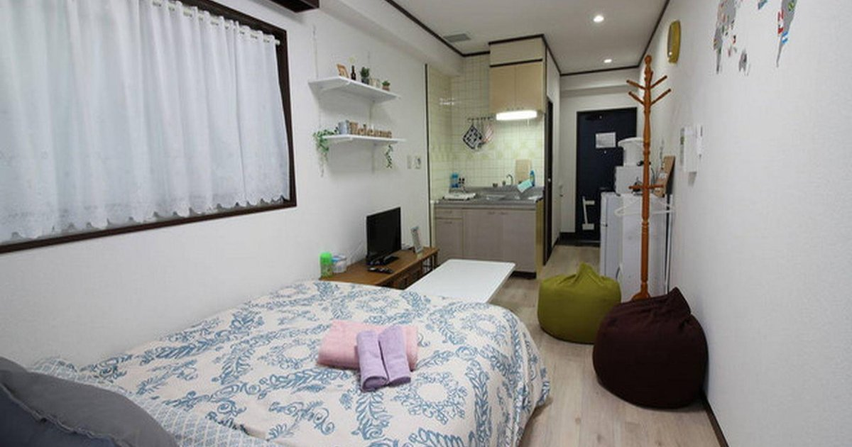 AO 1bdrm apartment near Shinjuku D14A