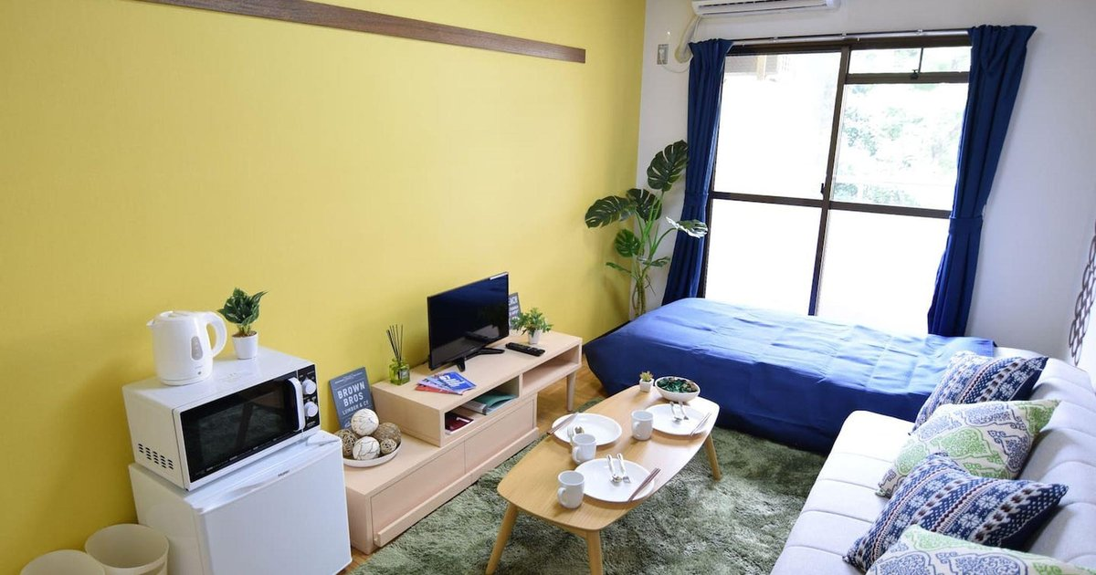 Ox 1 Bedroom Apartment near Shinjuku 103