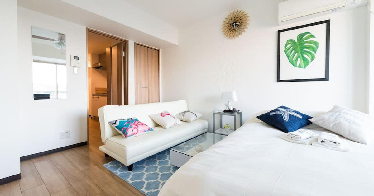 TW41. Bright and charming apt in Shinjuku