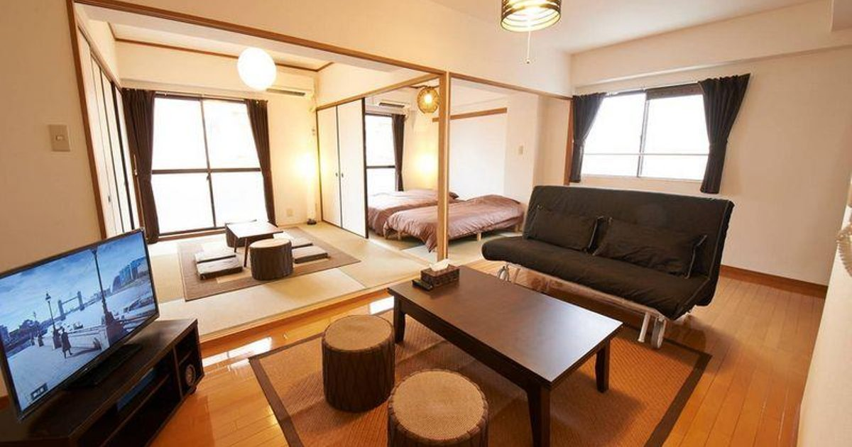STY 2 Bedroom Apartment in Central Osaka 8A