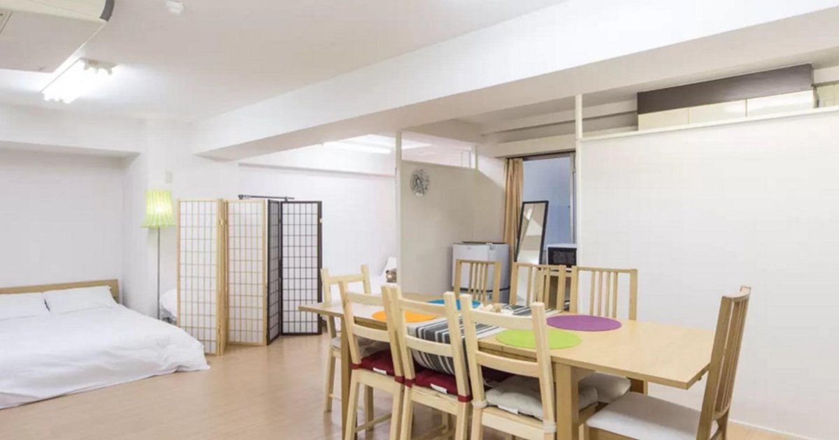SI 1 Large Room Apartment in Shin-Osaka