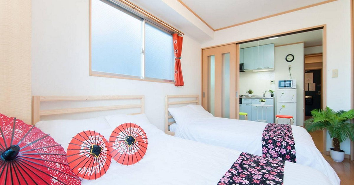 K&K M10 1 Bedroom Apt Namba Shinsaibashi 603
