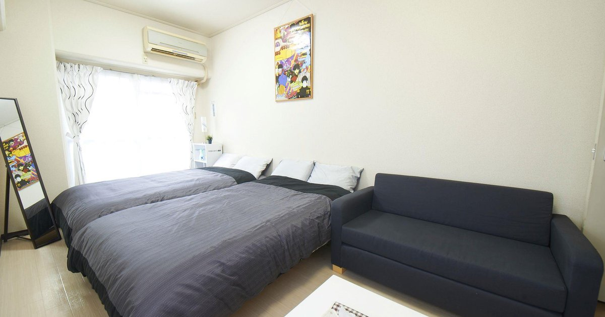 1 Bedroom Apartment in Shinsaibashi Area No12