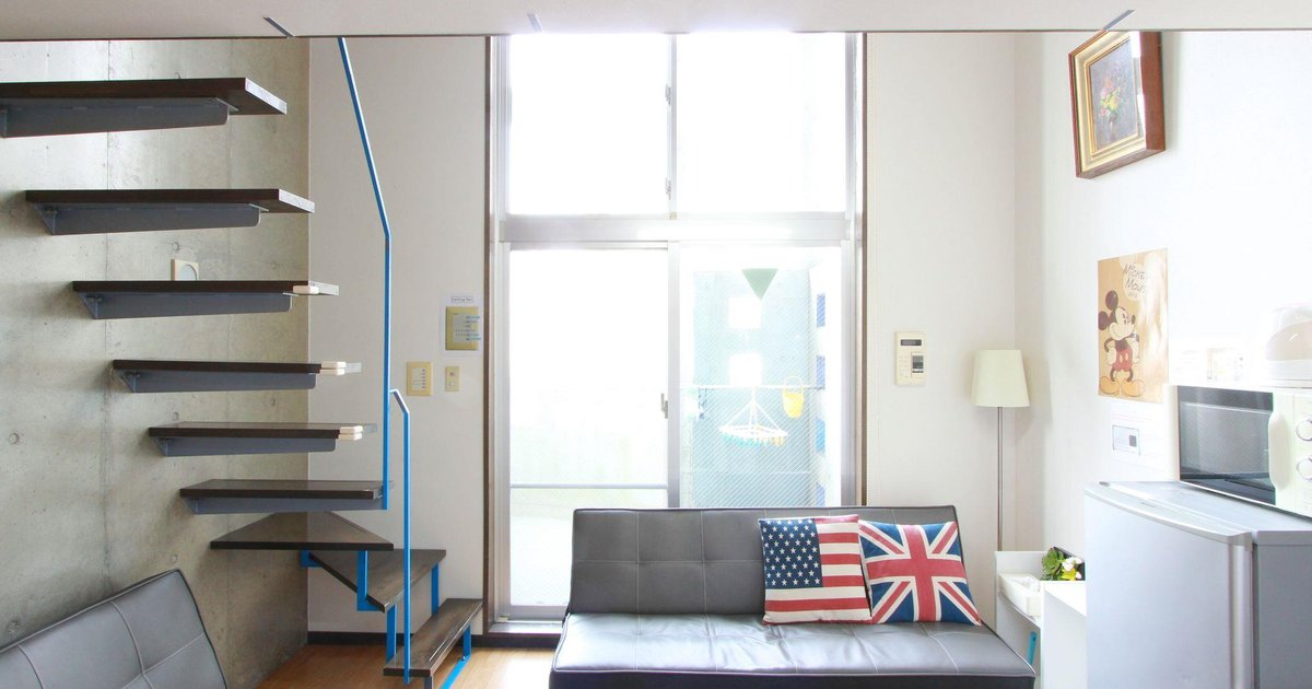 1 Bedroom Apartment in Namba Area 1