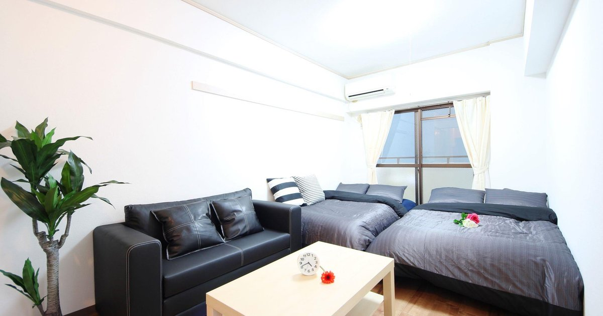 1 Bedroom Apartment in Tennoji No31