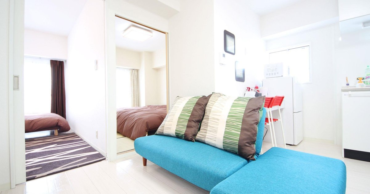 2 Bedroom Apartment in Osaka Area Q1