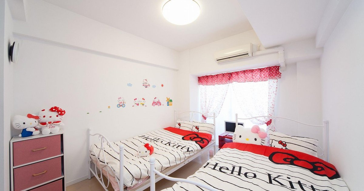 1 Bedroom Apartment with Kitty Namba Nipponbashi 808