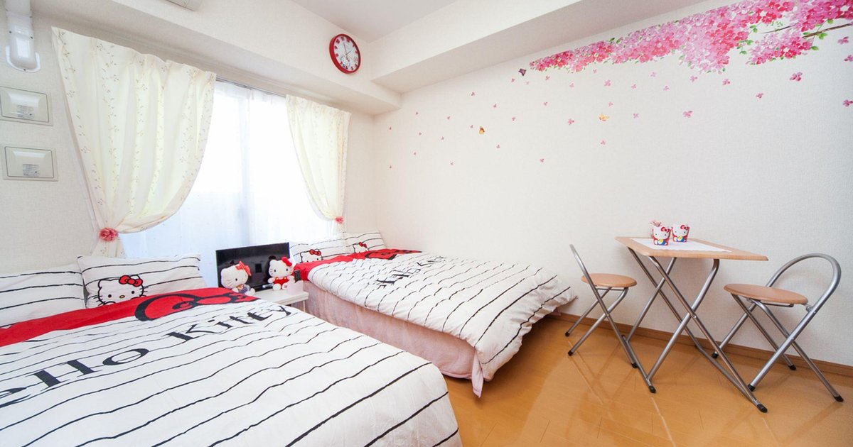 1 Bedroom Apartment with Kitty Central Namba Core 140