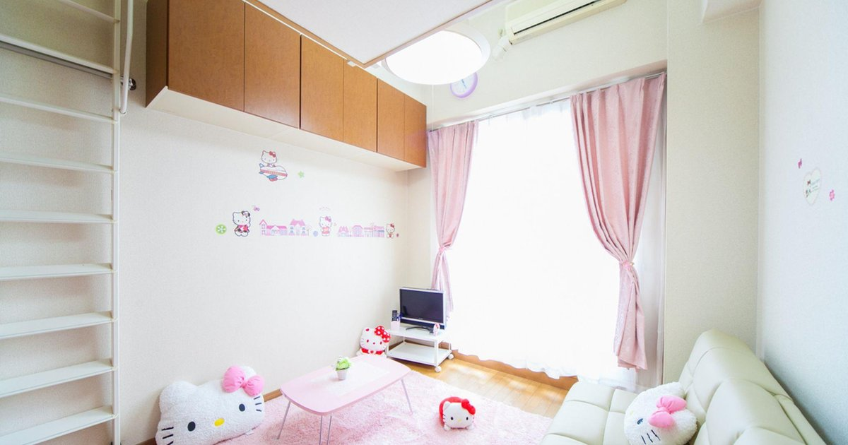 1 Bedroom Apartment with Kitty Center of Namba area 05