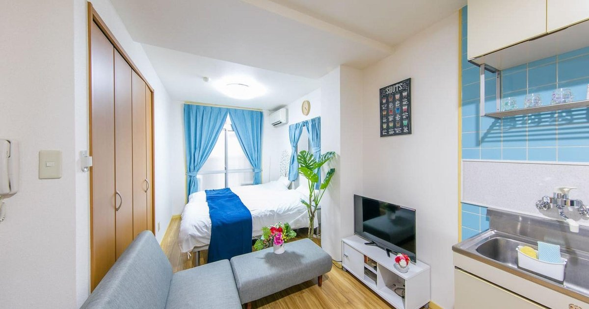 FP Studio Apartment near Osaka Castle LB1