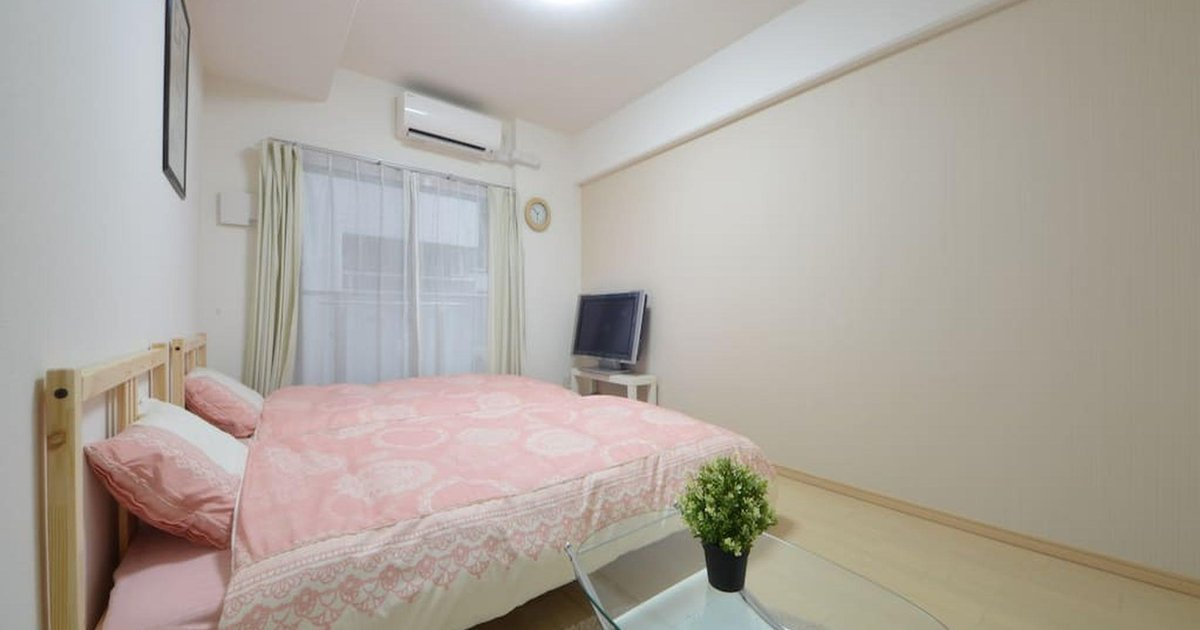 SG 1 Bedroom Apt near Namba&Dotonbori 503(BB)