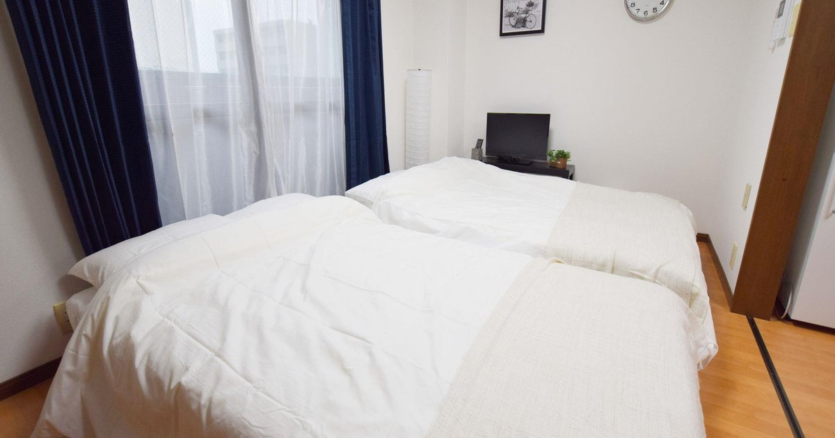 A Nice and Clean 3BR APT for 6 pax in Namba Osaka