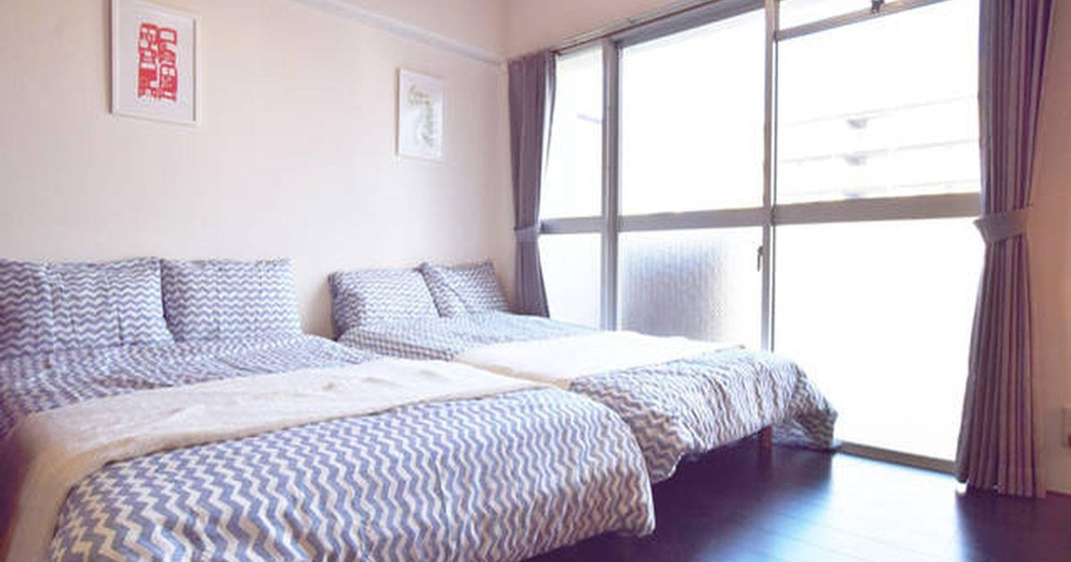 Walking distance to Namba station Up to 6 pax
