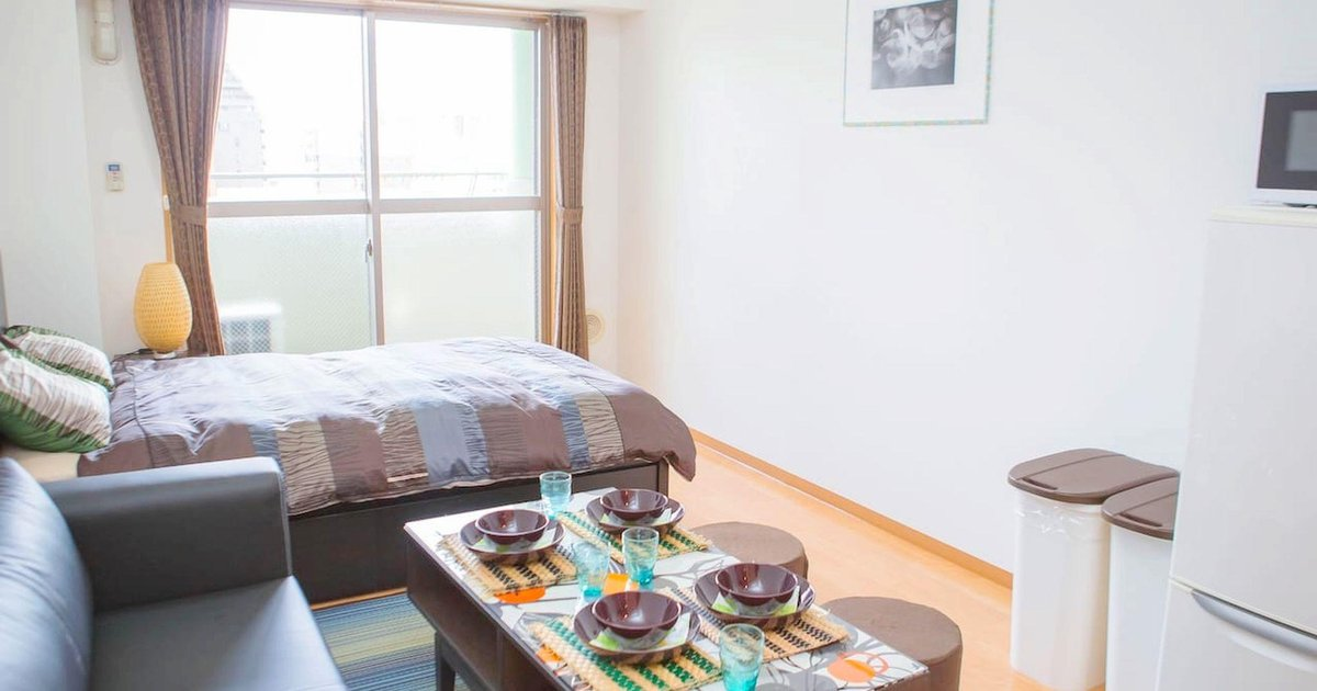 CB Studio Apartment in Central Hiroshima