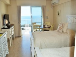 Motobu hotels with sea view
