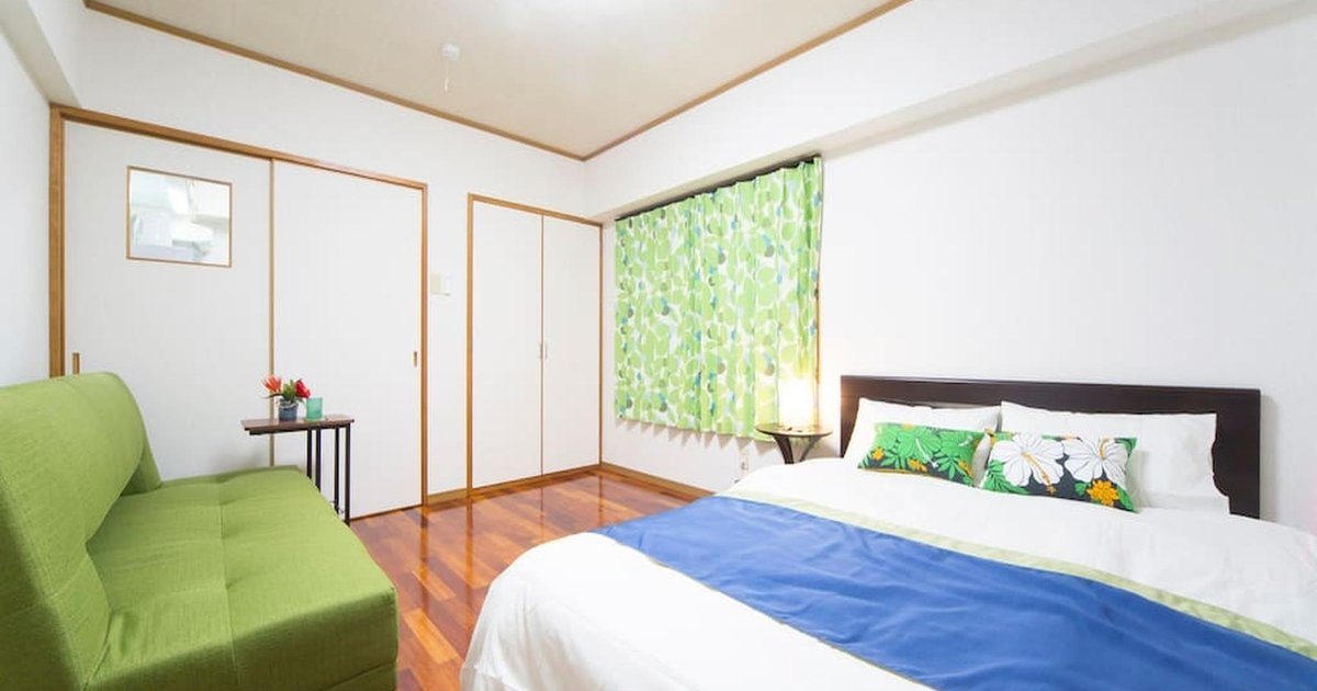 JSW Okinawa Room Up to 3 Next to NAHA Airport