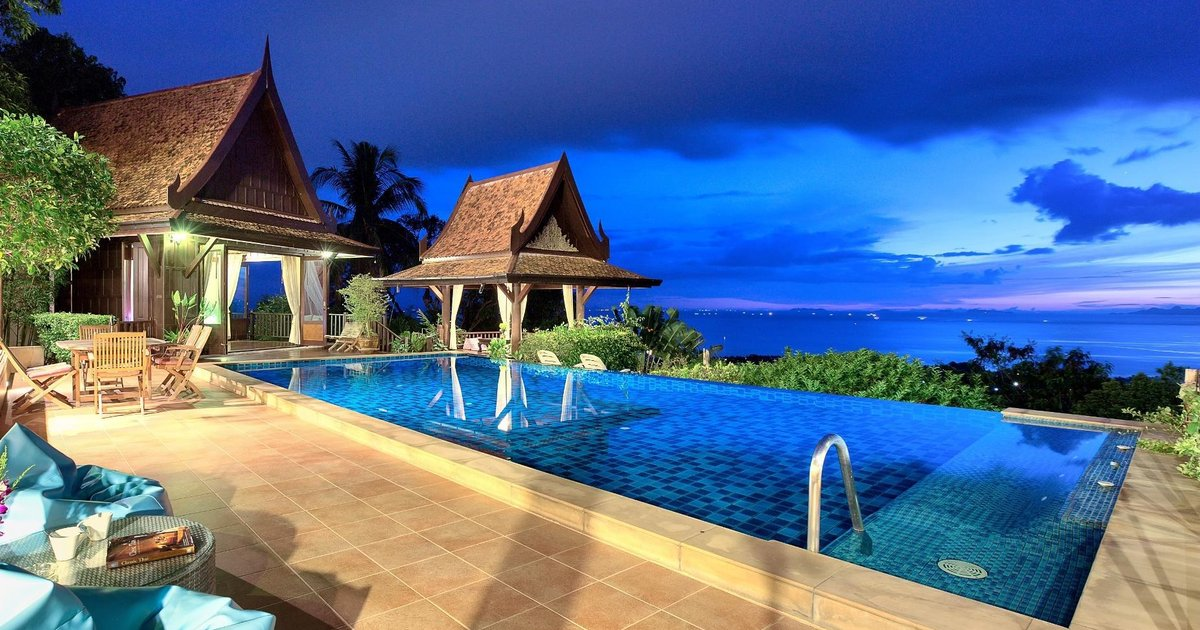 Villa Thai Teak - Panoramic Sea & Sunset Views