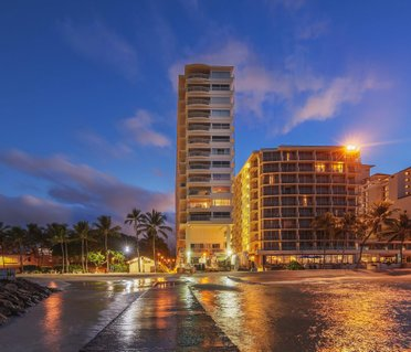 Castle Waikiki Shore Beachfront Condominiums