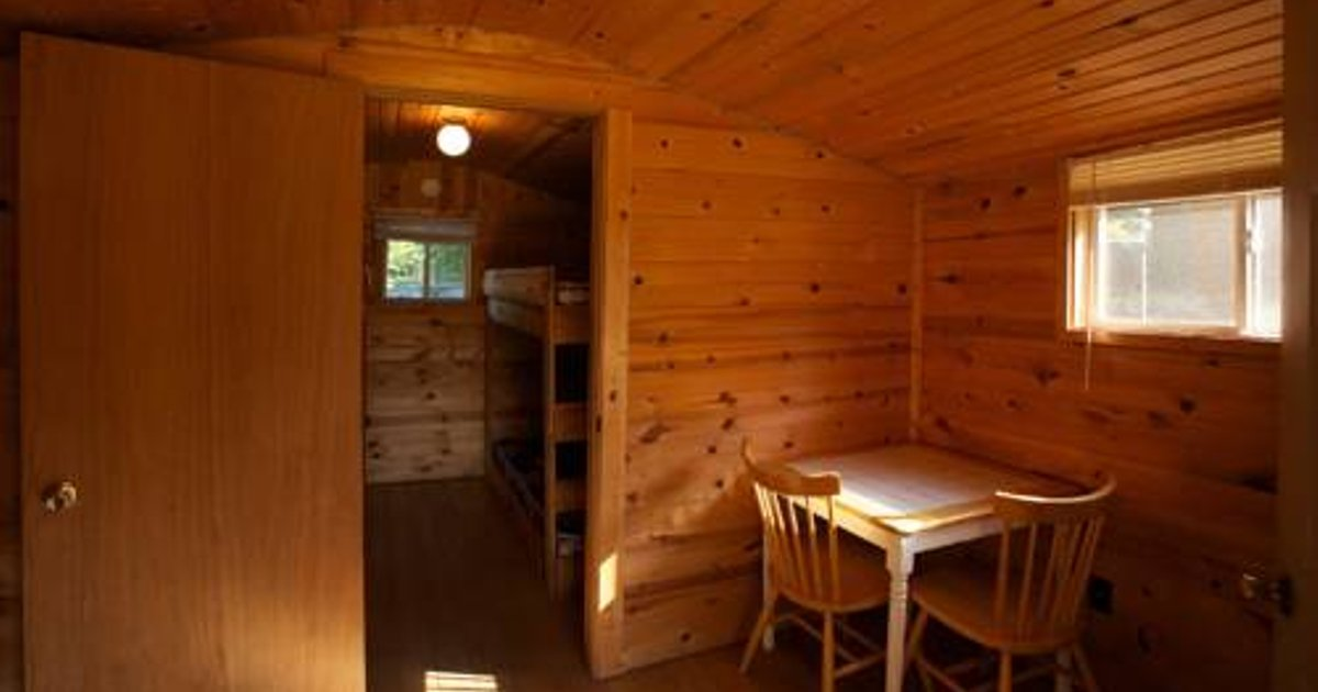 Plymouth Rock Camping Resort One-Bedroom Cabin 7