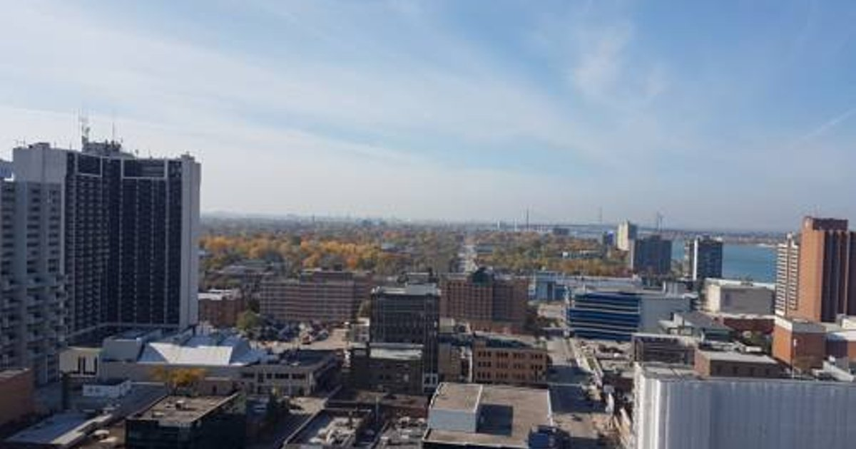 Two bedroom Two floor Penthouse downtown Windsor