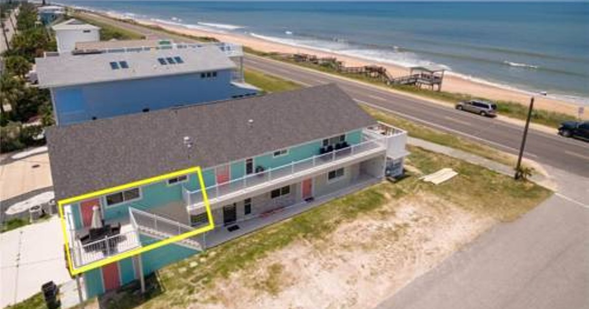 Flagler Beach Sandy Toes - One Bedroom Apartment - C