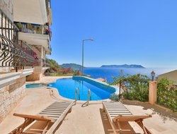 Kas hotels with sea view