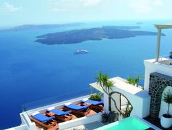 The most expensive Santorini Island hotels