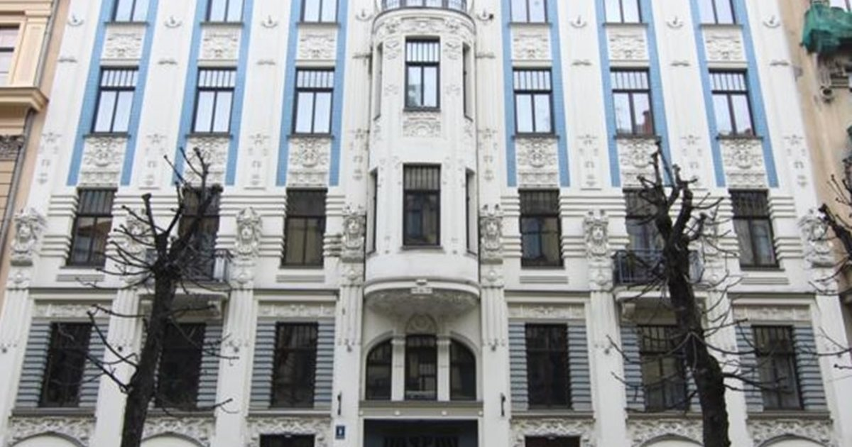 Art Nouveau Building Apartment