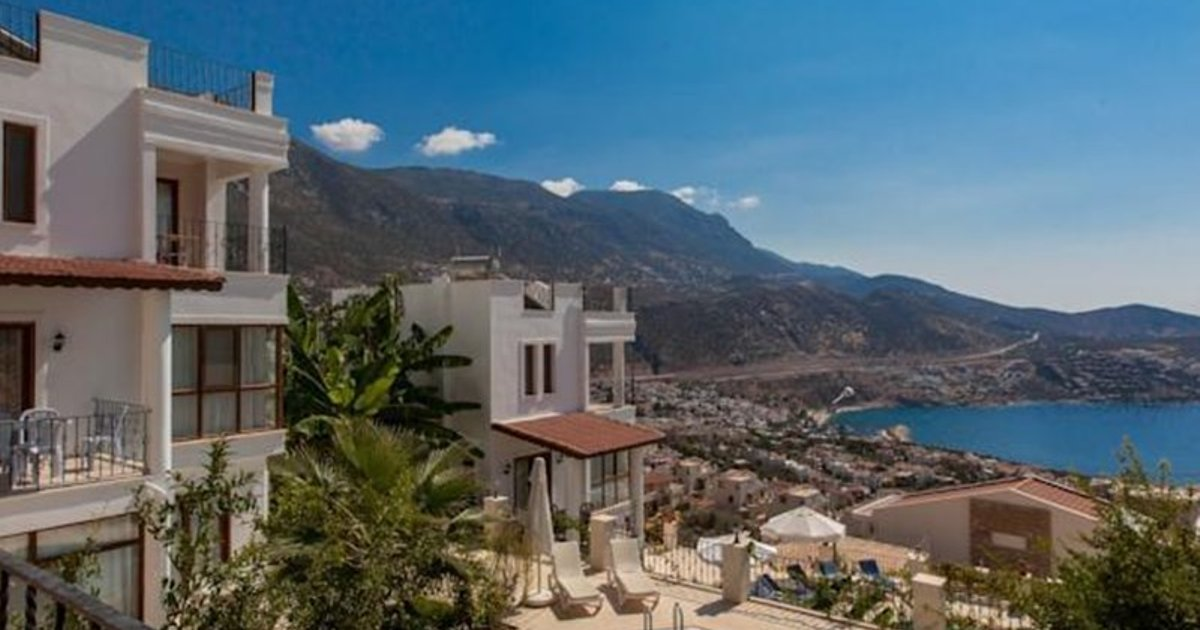 Beautiful Kalkan Hillside Villas