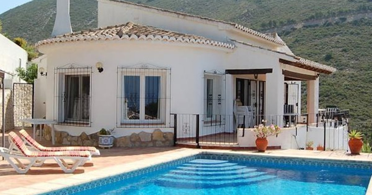 Holiday home Valle del Portet Benitatxell