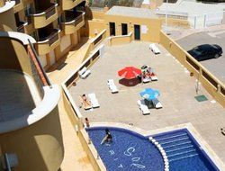 Puerto de Mazarron hotels with sea view