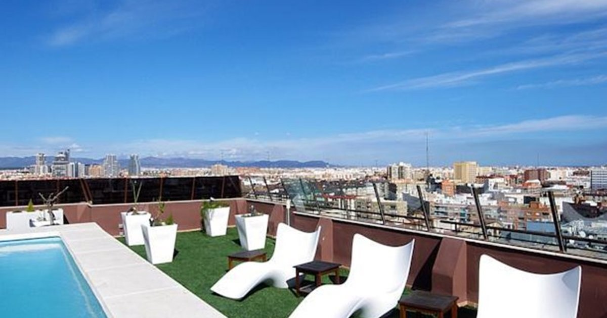 Valencia Luxury River Turia Penthouse with swimming pool