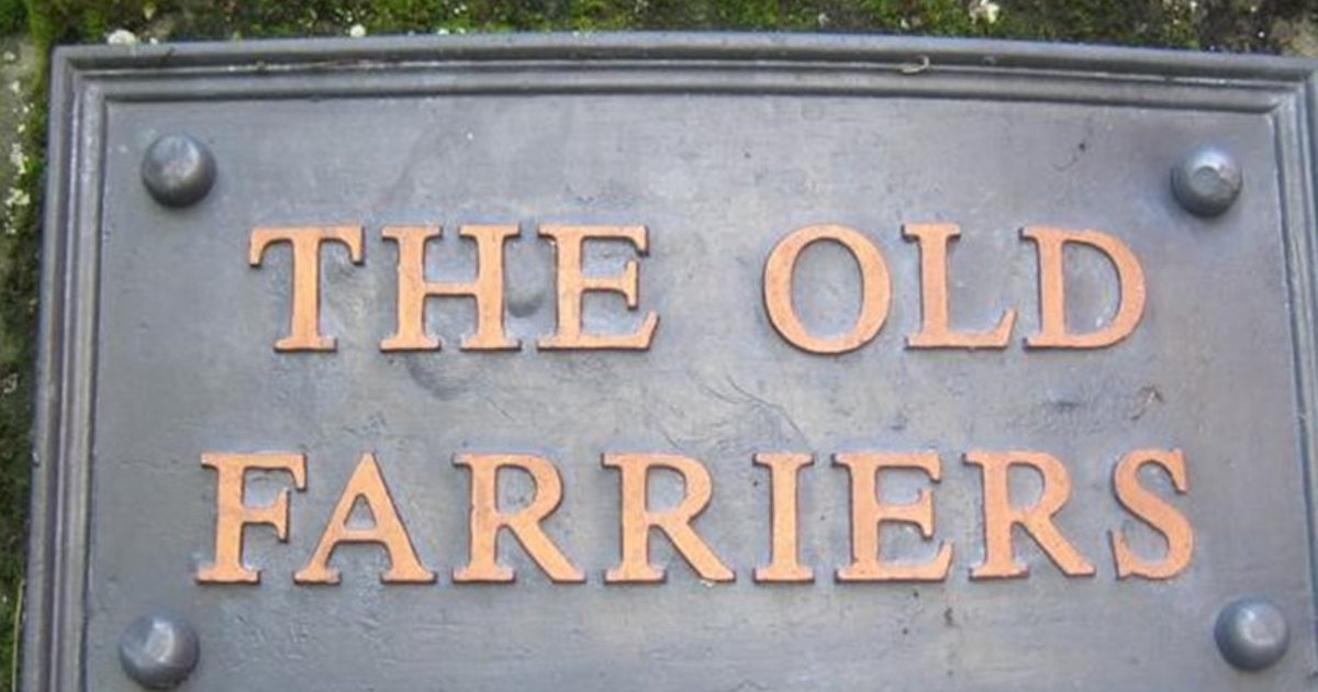 THE OLD FARRIERS