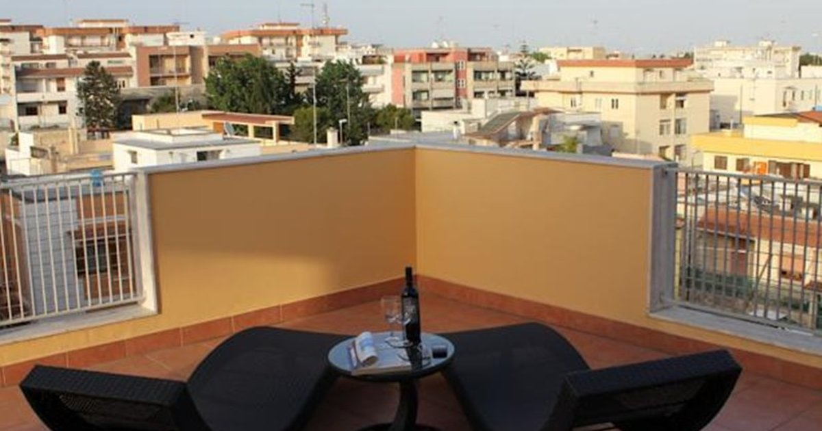 Studio Flat With Big Great Terrace
