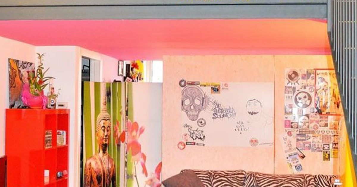 Pink New Age Apartment