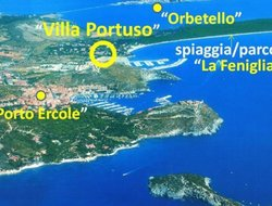 Porto Ercole hotels with sea view