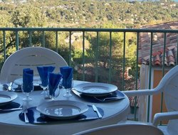 Grimaud hotels with sea view