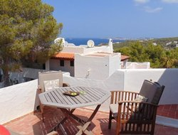 Cala Vadella hotels with sea view