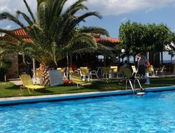 Top-3 hotels in the center of Skala