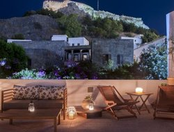 Lindos hotels with sea view