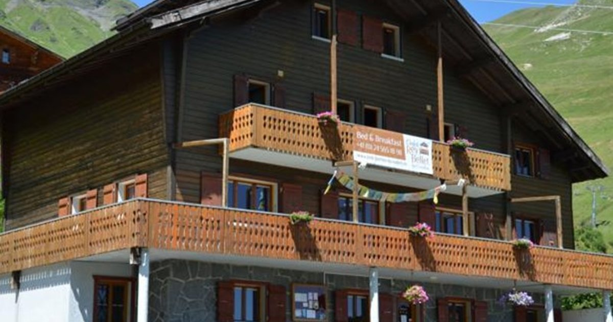 Bed And Breakfast Chalet Rey Bellet