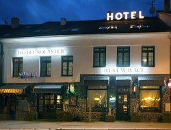 Top-5 hotels in the center of Trebic